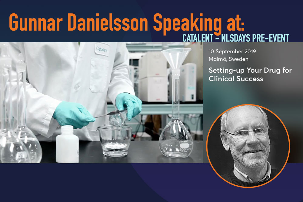 Gunnar Danielsson speaking at Catalent - NLS PRE-EVENT